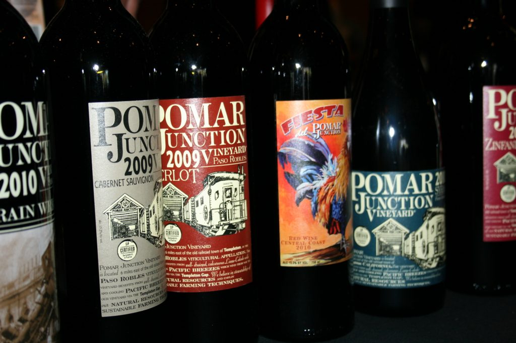Pomar Junction wines at Paso Robles Grand Tasting Tour 2013