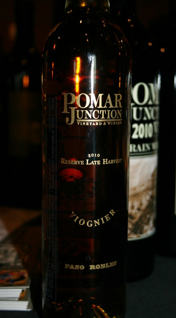 Pomar Junction 2010 Reserve Late Harvest Viognier