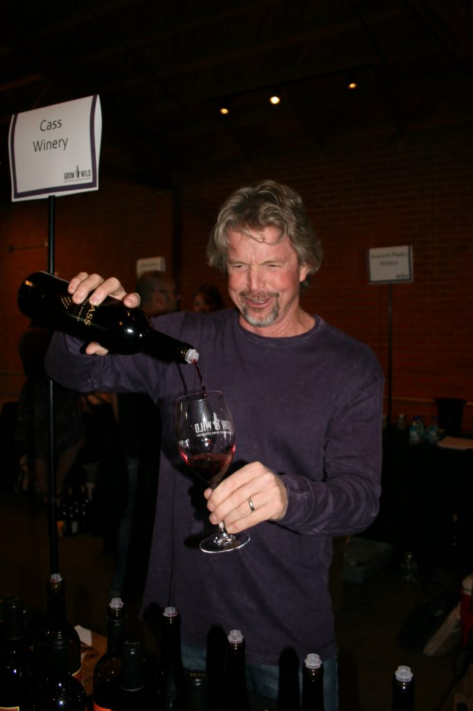 Ted Plemons of Cass Wine