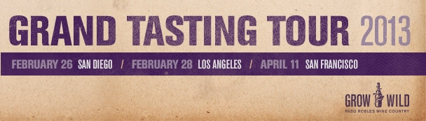 Paso Robles Grand Tasting Tour 2013