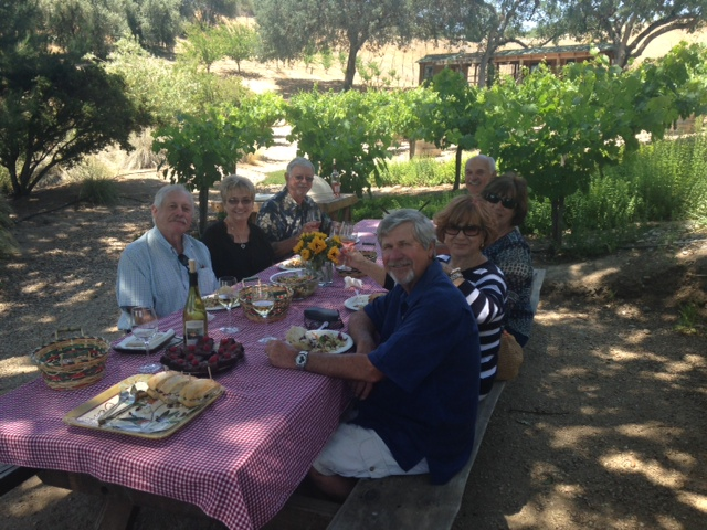 Picnic at Still Waters Vineyards - Paso Robles