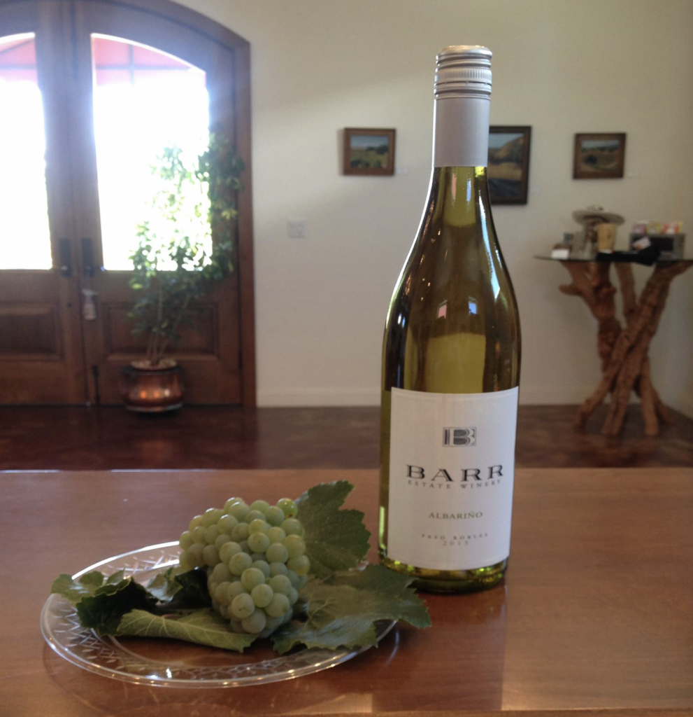 Barr Estate Winery Albariño - Back Roads Wineries - Paso Robles