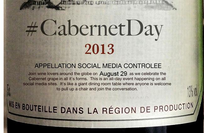 #CabernetDay 2013