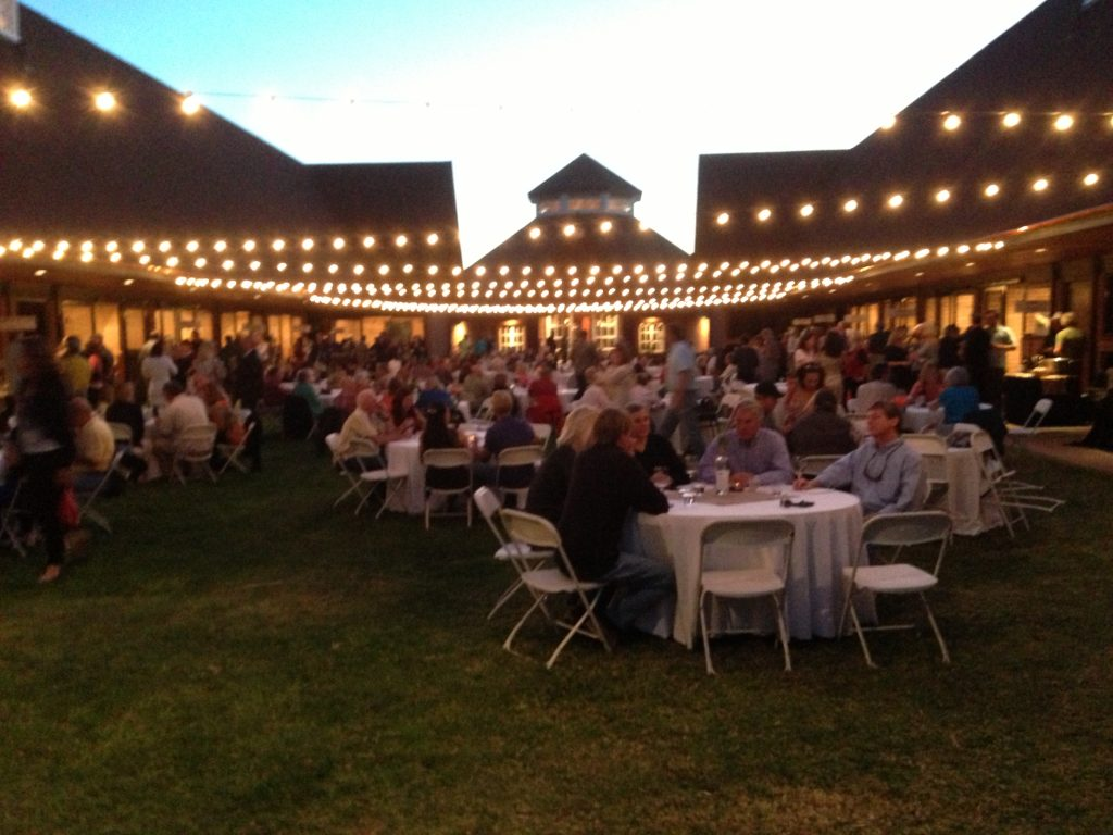 """Taste of the Back Roads"" harvest wine event at Windfall Farms in Paso Robles"