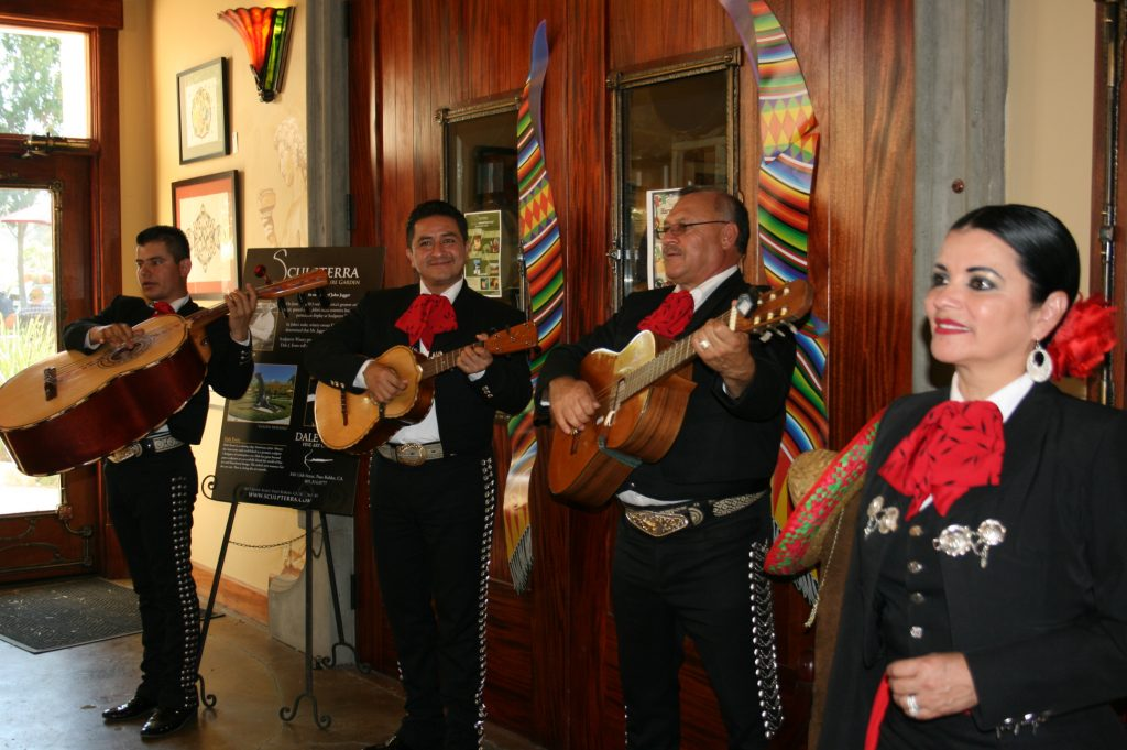 Mariachi Festival Harvest 2013 at Sculpterra Winery, Paso Robles