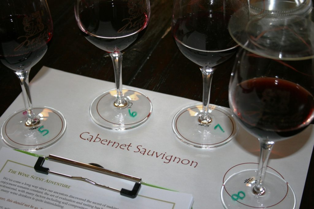Wine Scent Adventure Station at Mitchella Winery - Paso Robles