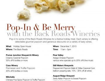 2013 Winery Holiday Open House Paso Robles