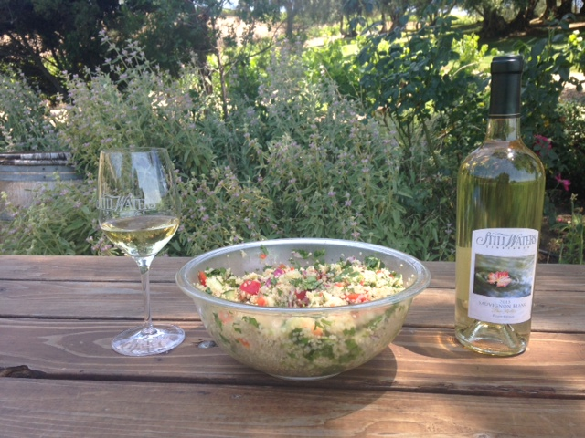 Fresh Vegetables and Quinoa Salad