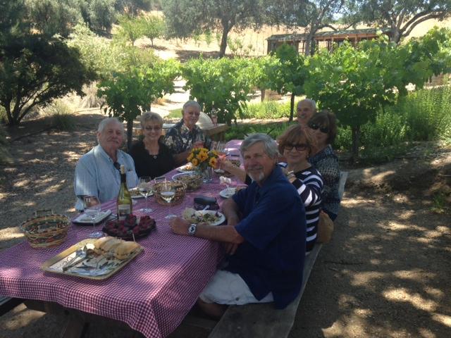 Picnic at Still Waters Vineyards - Paso Robles