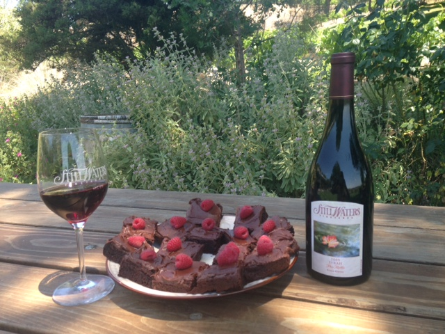 Red Wine Brownies - Still Waters Vineyards - Paso Robles