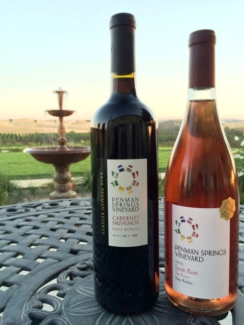 Penman Springs Vineyard Paso Robles wines