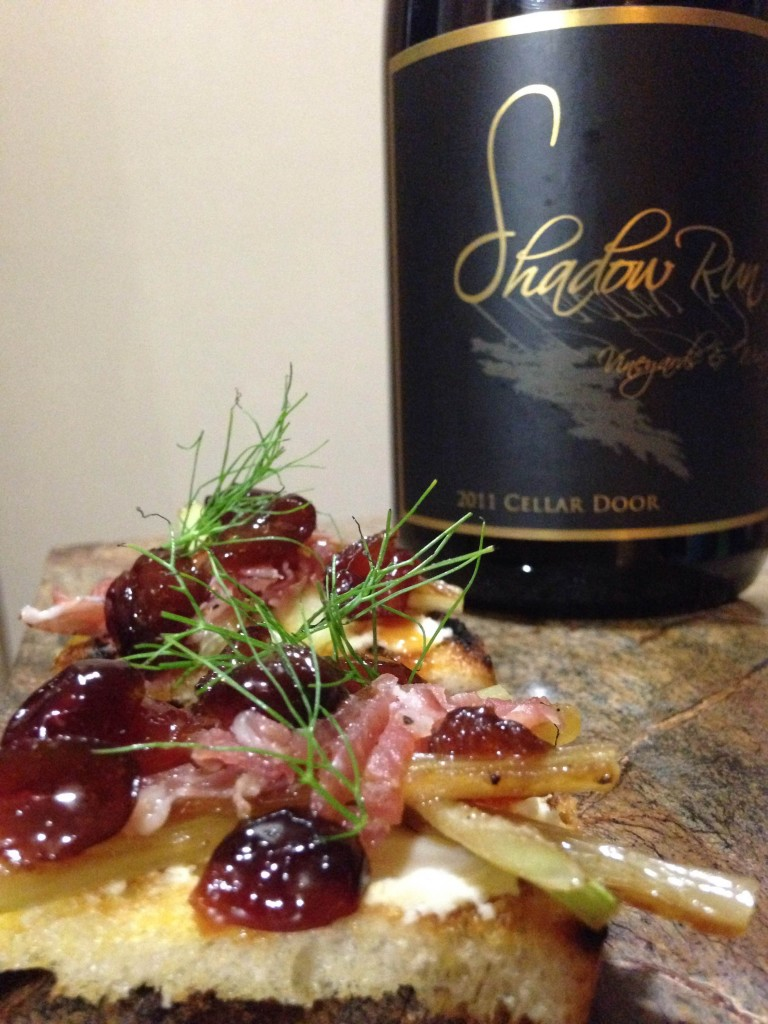 Thanksgiving hors d'oeuvres and wine pairing