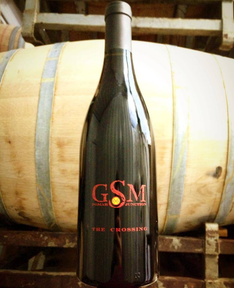 "Pomar Junction ""The Crossing"" GSM blend Paso Robles"