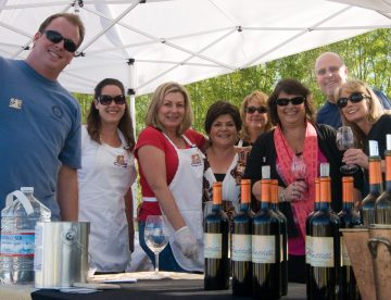 Mitchella at the Paso Robles Rotary Winemakers Cookoff