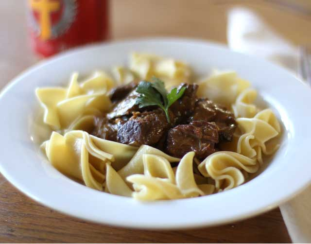 Cabernet Sauvignon with Beef and Beer Stew - Mitchella Winery