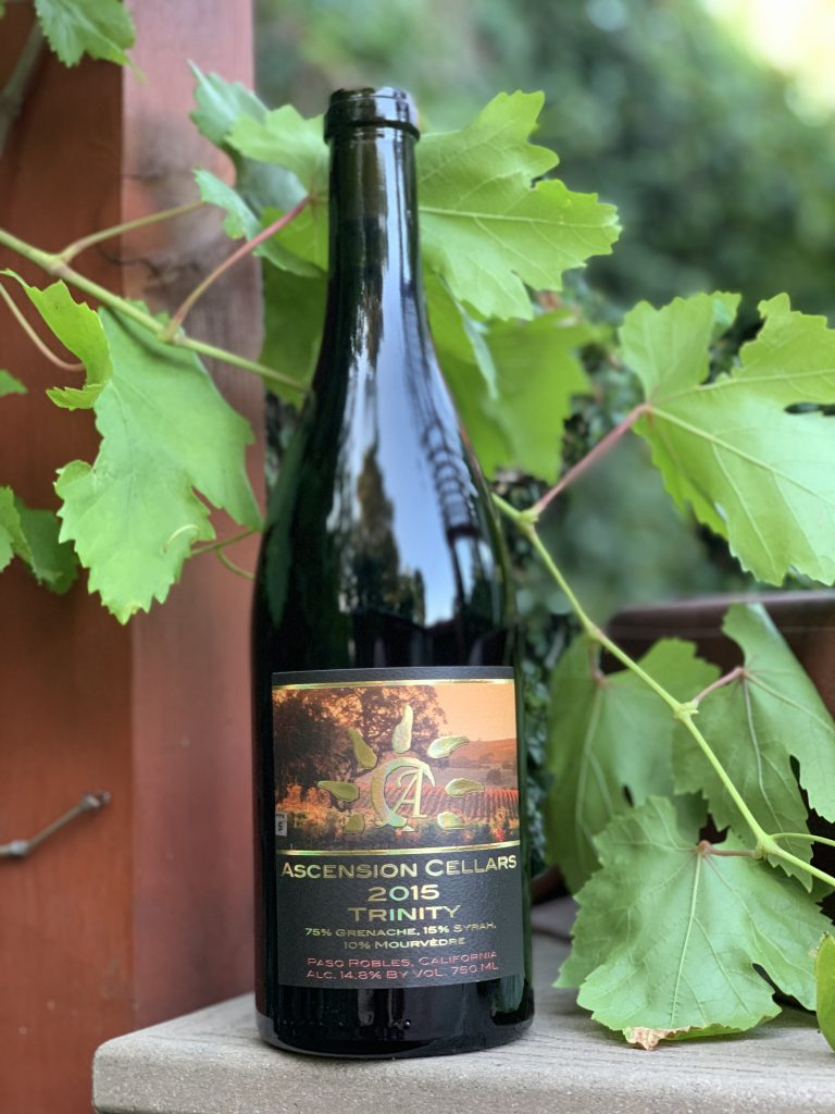 Ascension Cellars Trinity to pair with Chili