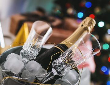 sparkling wine for celebration